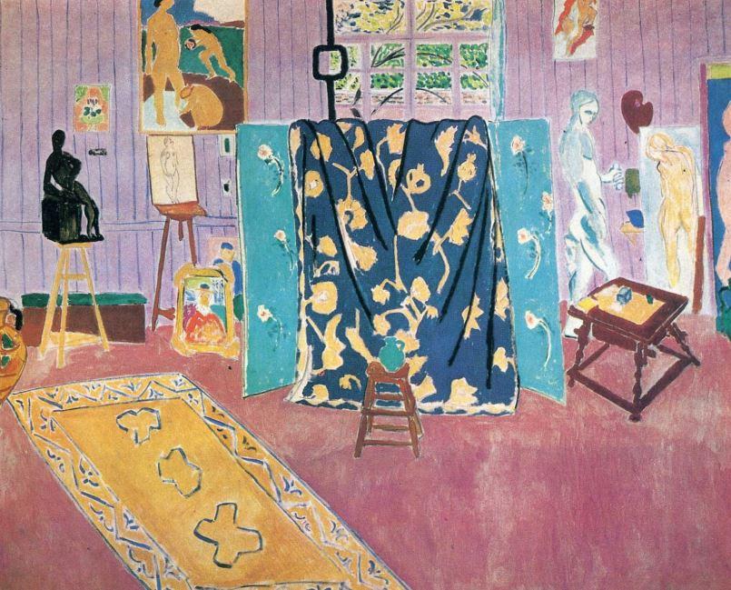 Matisse, « L'atelier rose » – 1911, huile sur toile