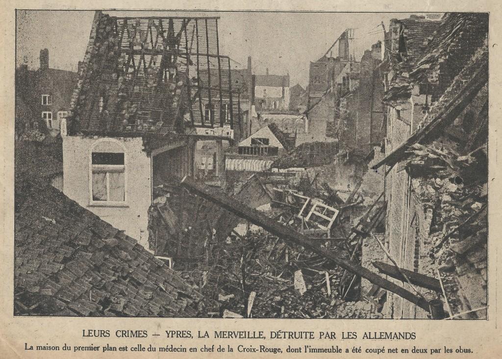 """Photo parue dans le Journal """"Sur le vif"""" du 26 décembre 1914"""