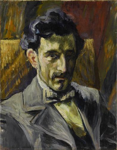Portrait de Maurice Ravel (1902) par Henri Manguin - Source P. Migeat - Centre Pompidou